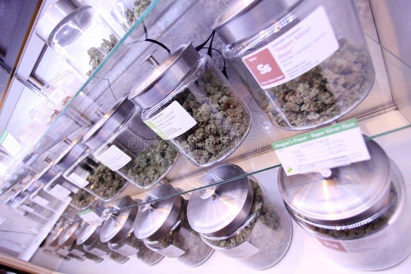 Marijuana médicale photo stock