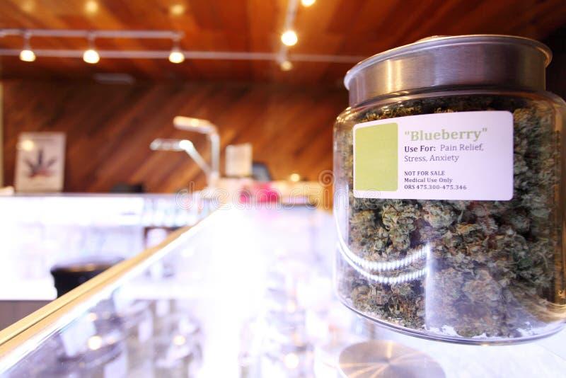 Marijuana medica fotografia stock libera da diritti