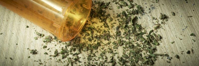 Marijuana RX photographie stock