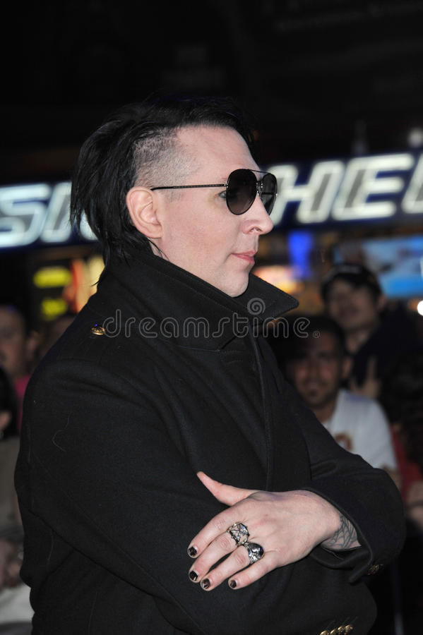 Marilyn Manson photos libres de droits