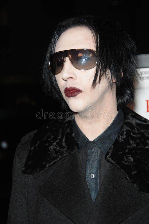 Marilyn Manson royalty free stock images