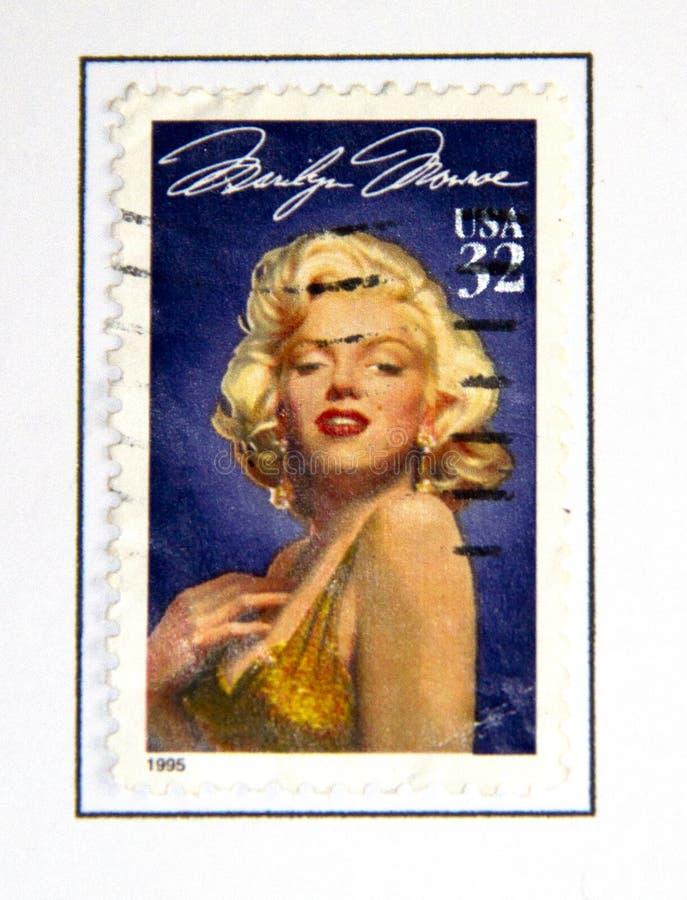 Marilyn Monroe imagen de archivo libre de regalías