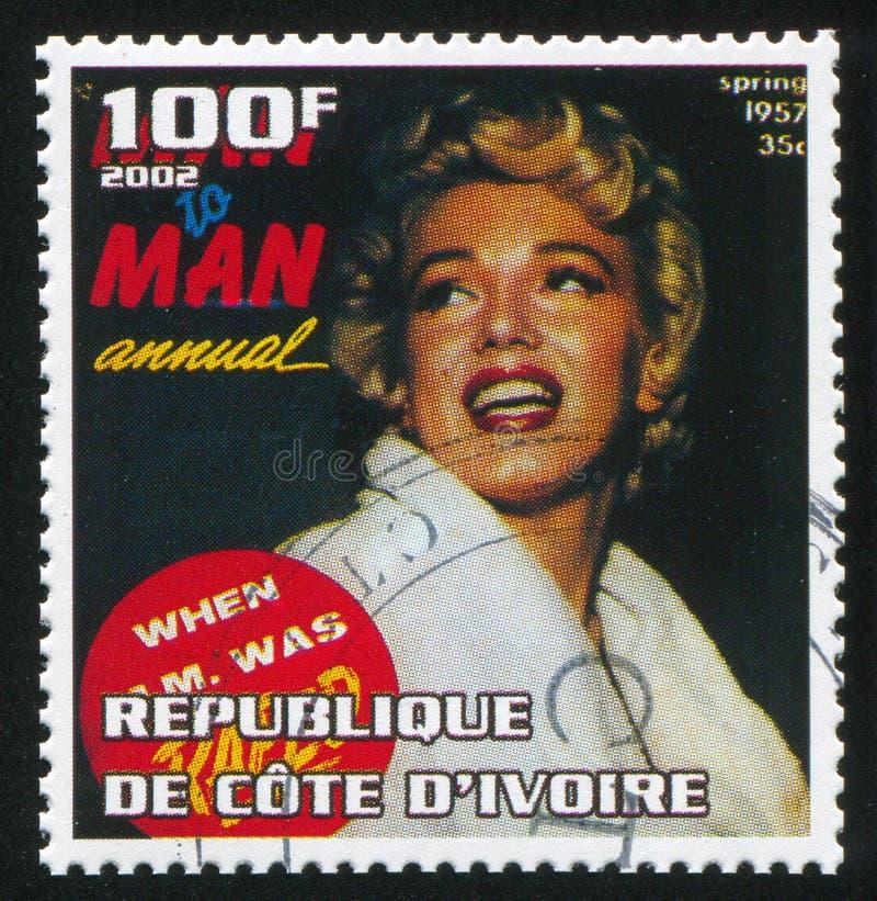 Marilyn Monroe fotografía de archivo