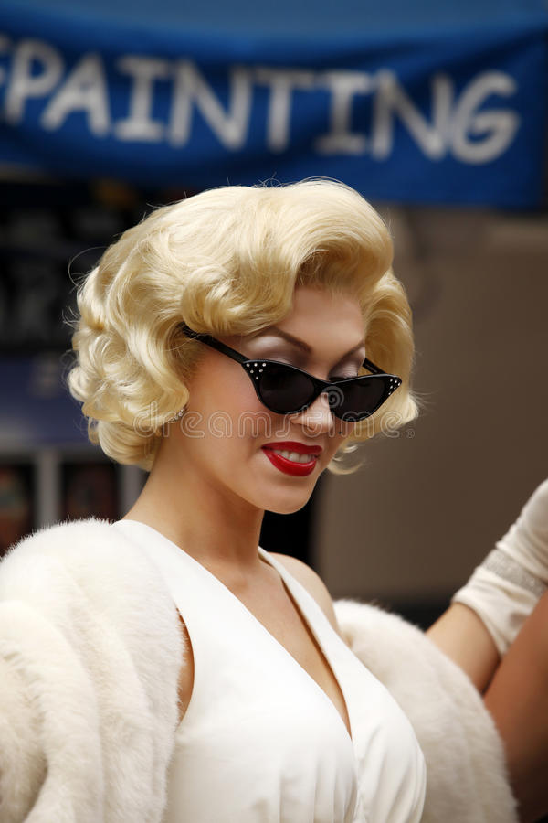 Marilyn Monroe fotografia stock