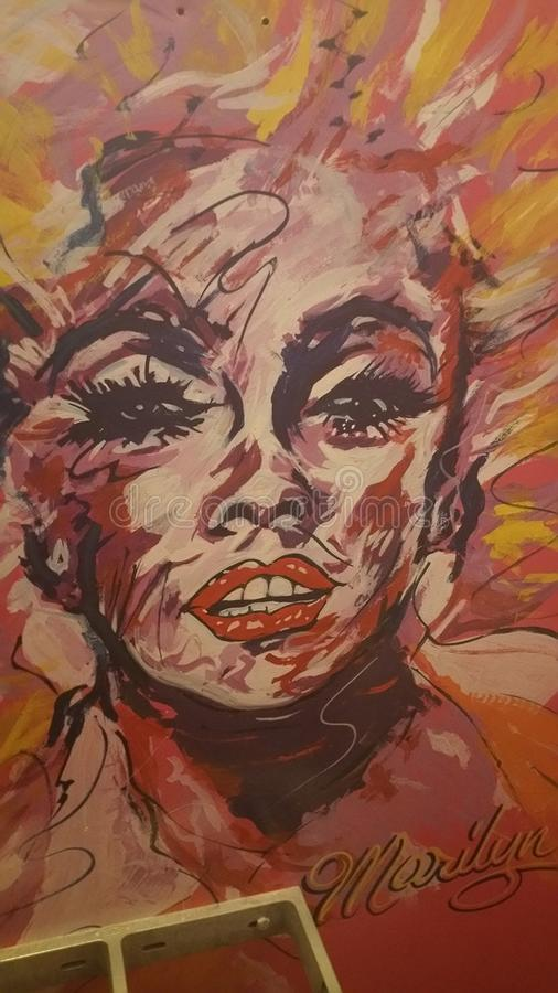 Marilyn Monroe immagine stock libera da diritti
