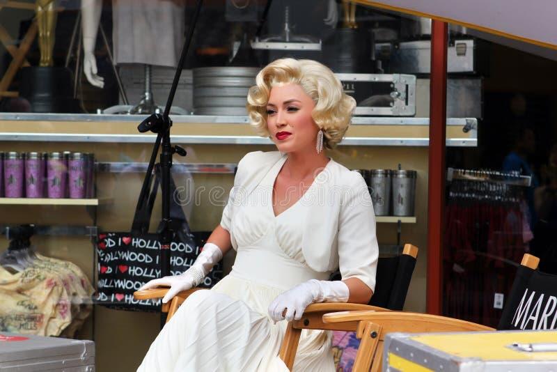 Marilyn Monroe image stock