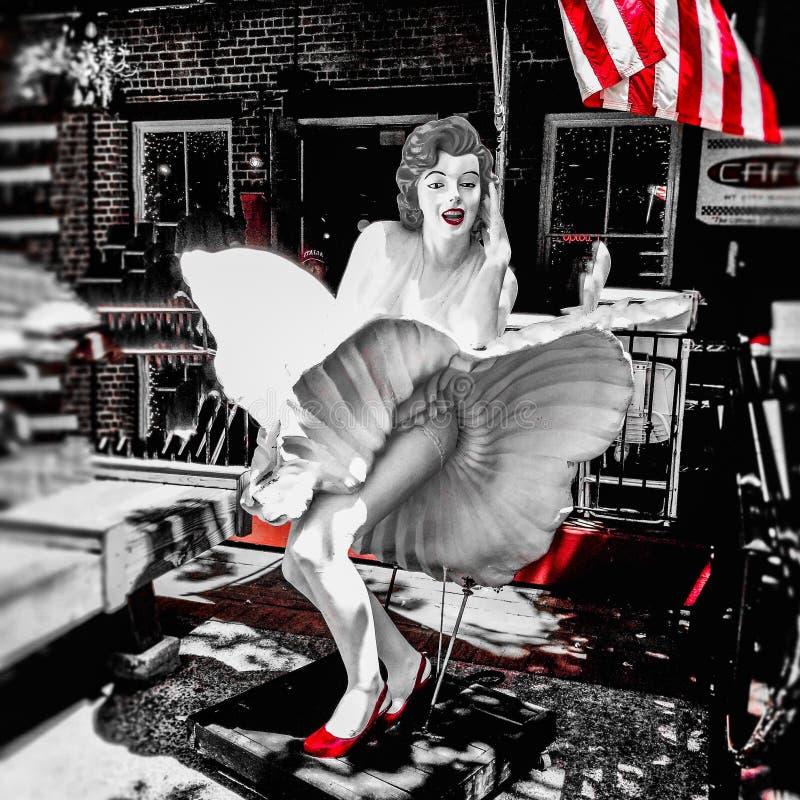 Marilyn Monroe fotografie stock libere da diritti