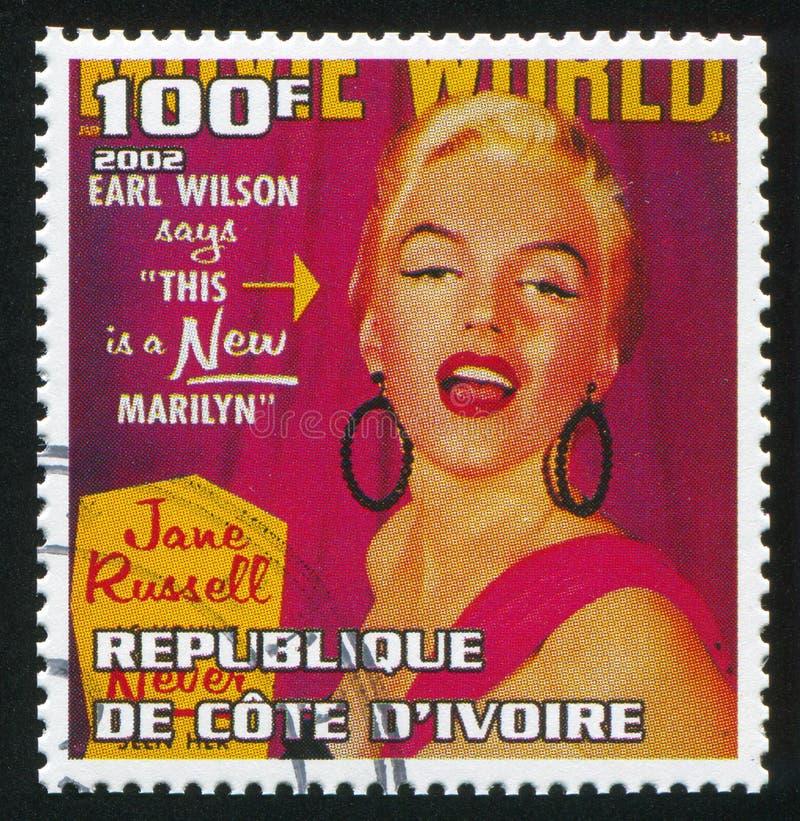 Marilyn Monroe stock abbildung