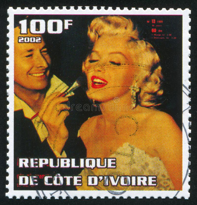 Marilyn Monroe lizenzfreie abbildung