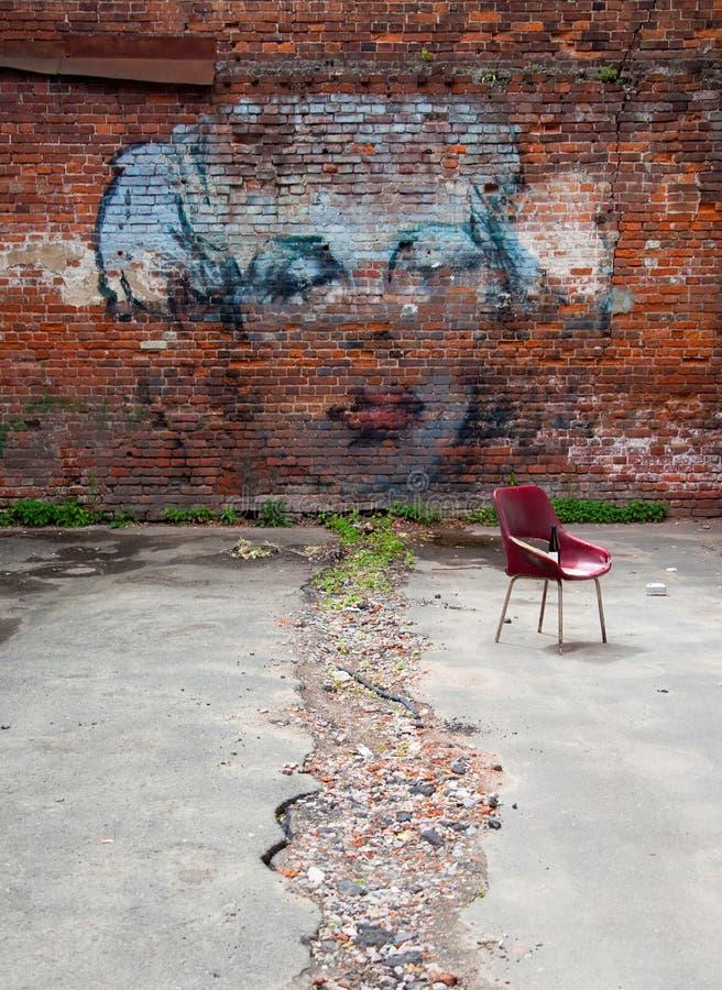 Marilyn Monroe Graffiti Art images libres de droits