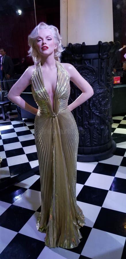 marilyn monroe staty royaltyfri foto