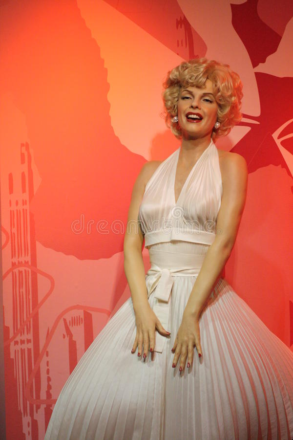 Download Marilyn Monroe wax figure editorial image. Image of museum - 28382350