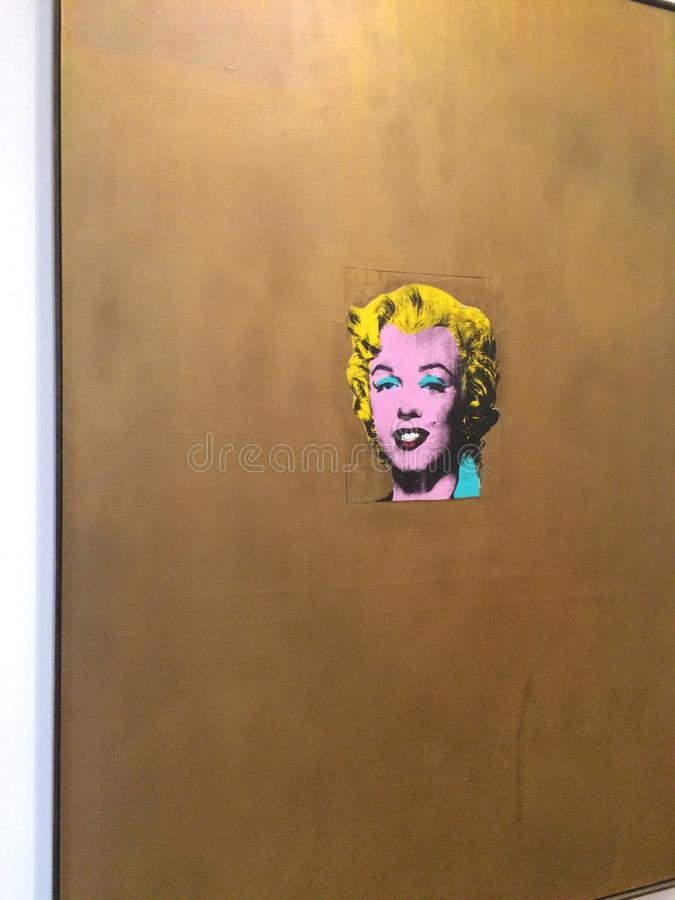Marilyn par Andy Warhol image stock