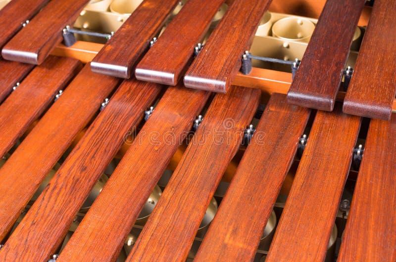 Marimba keys full frame royalty free stock images