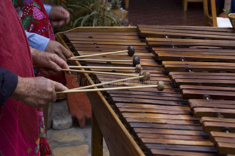 Marimba Players stock photos