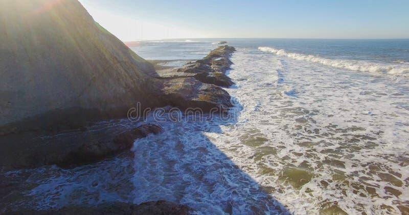 Marin ad ovest nel californiano di Bolinas fotografia stock