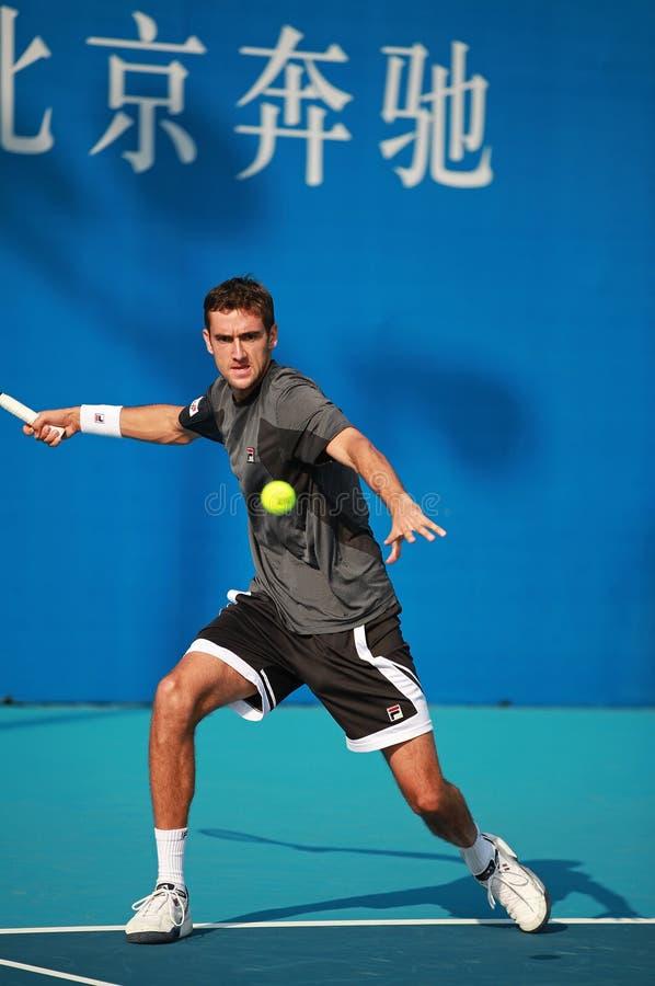 Marin Cilic of Croatia, tennis star royalty free stock photography
