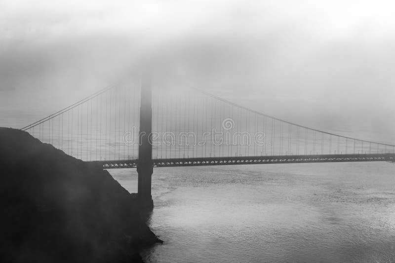 Marin Headland en niebla imagen de archivo libre de regalías