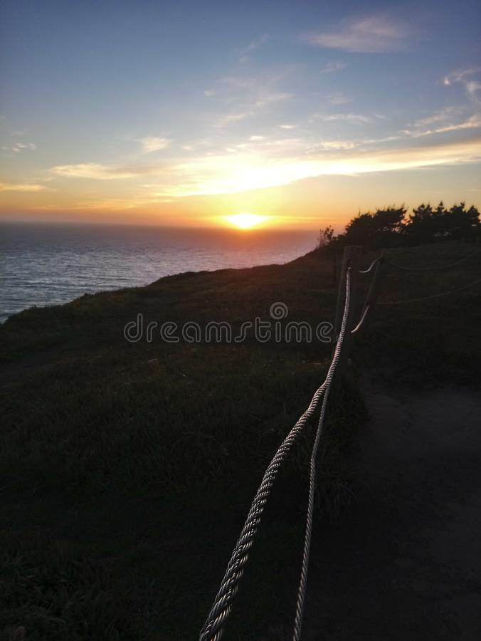Marin headlands zdjęcia stock