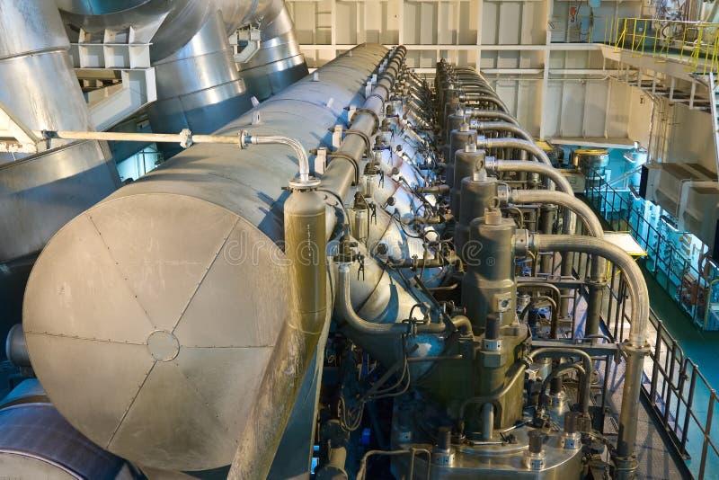 Marin- motor arkivfoto