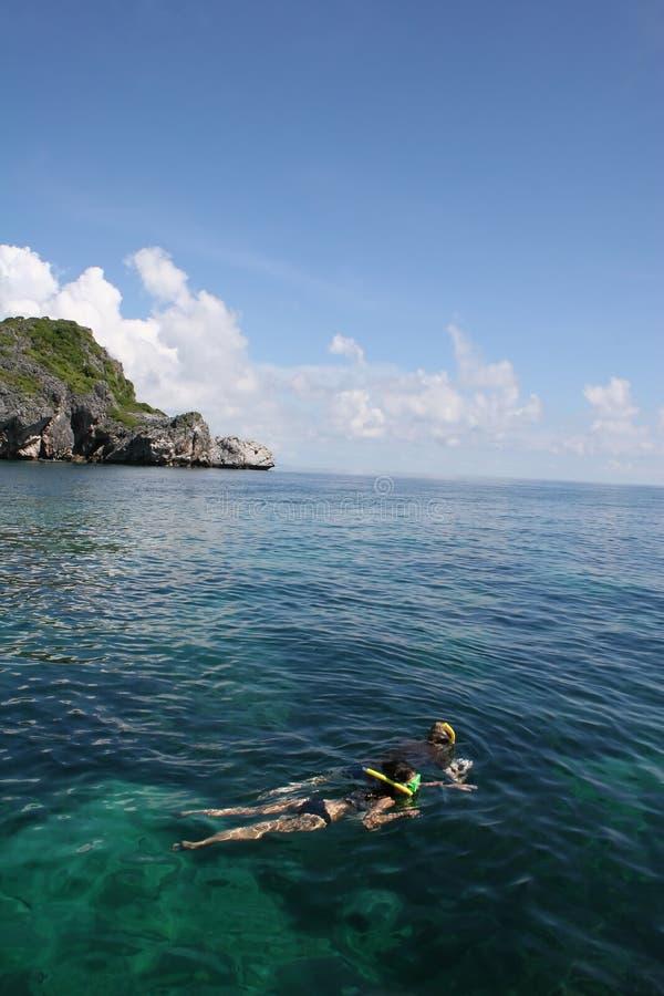 marin- parkthong för ang royaltyfri fotografi