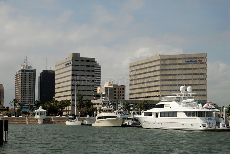 Marina à Corpus Christi, le Texas photographie stock libre de droits