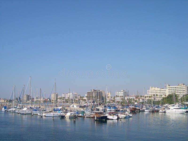 Marina à Larnaca, Chypre photo stock