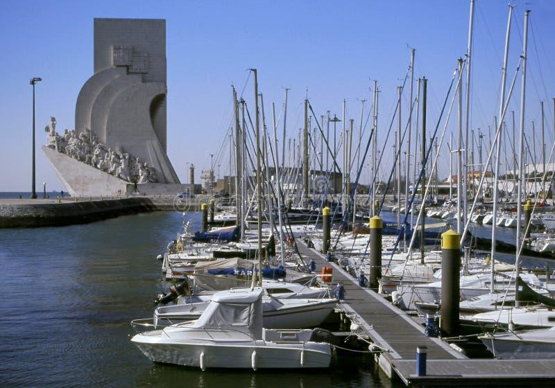 marina łodzi obraz royalty free