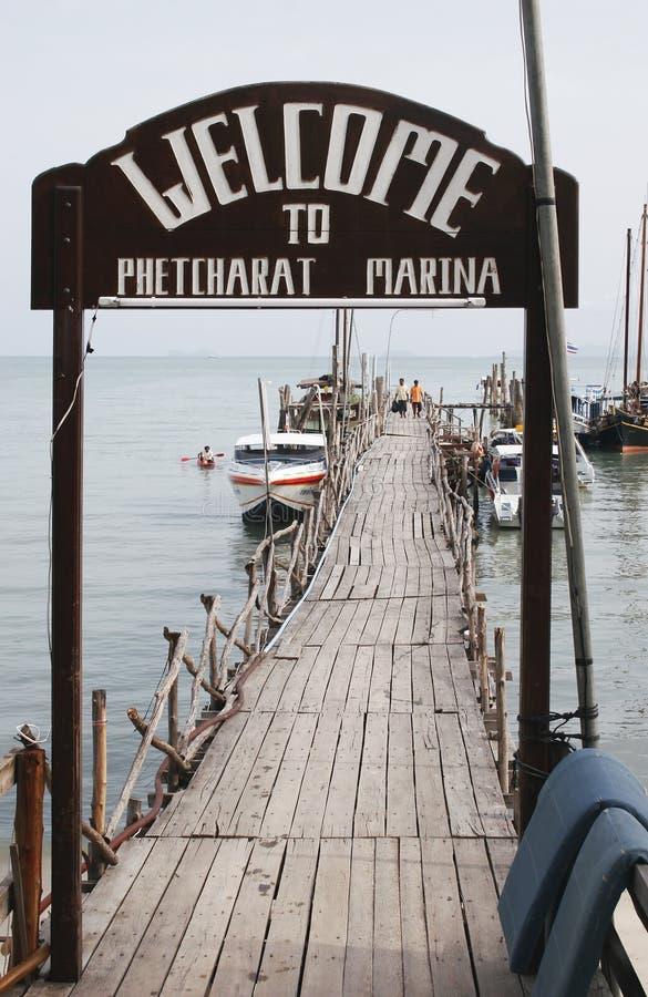 Marina 02 de Phetcharat photo libre de droits