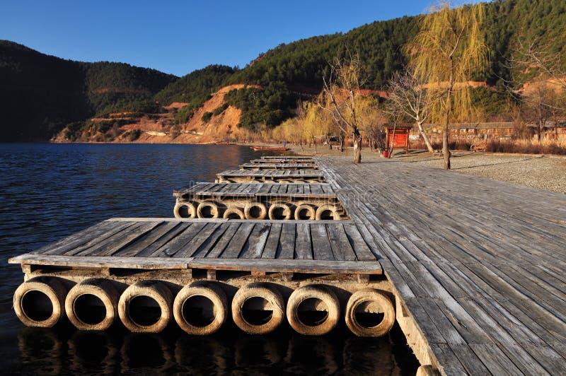 Download Marina stock photo. Image of sunrise, marina, canoe, mountain - 13386230