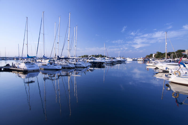 Marina. photo stock