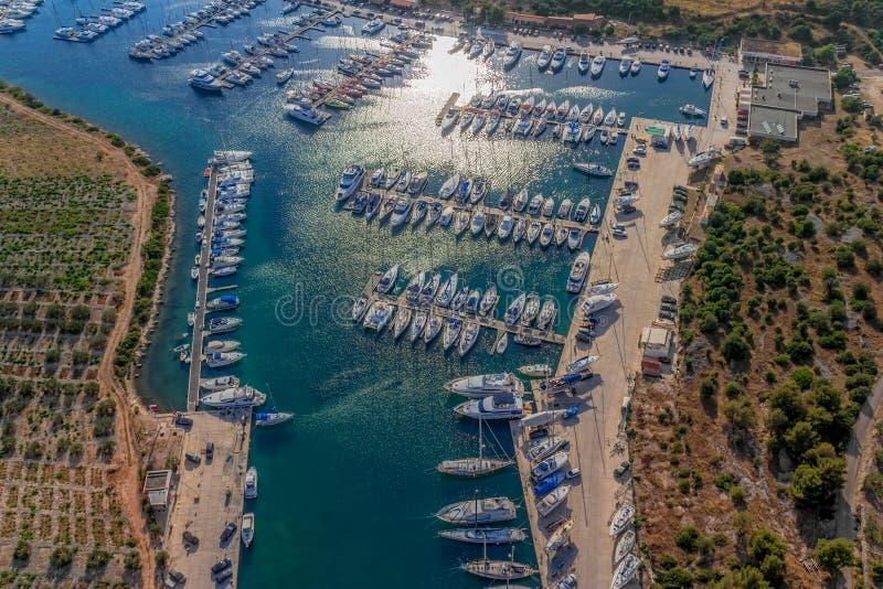 Download Marina stock photo. Image of adriatic, jetty, landscape - 28038538