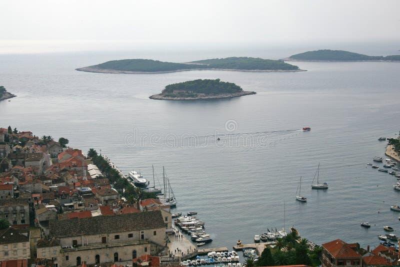 Download Marina stock image. Image of marina, adriatic, street, cathedral - 460991