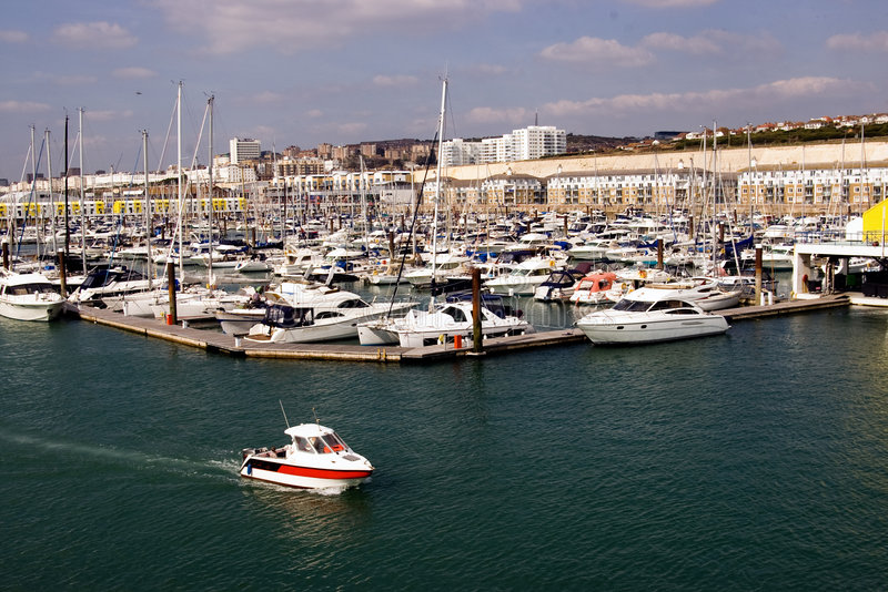 The marina royalty free stock image