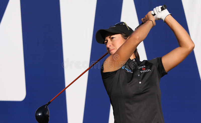 Marina Alex på turneringen 2015 för ANA inspirationgolf royaltyfri fotografi