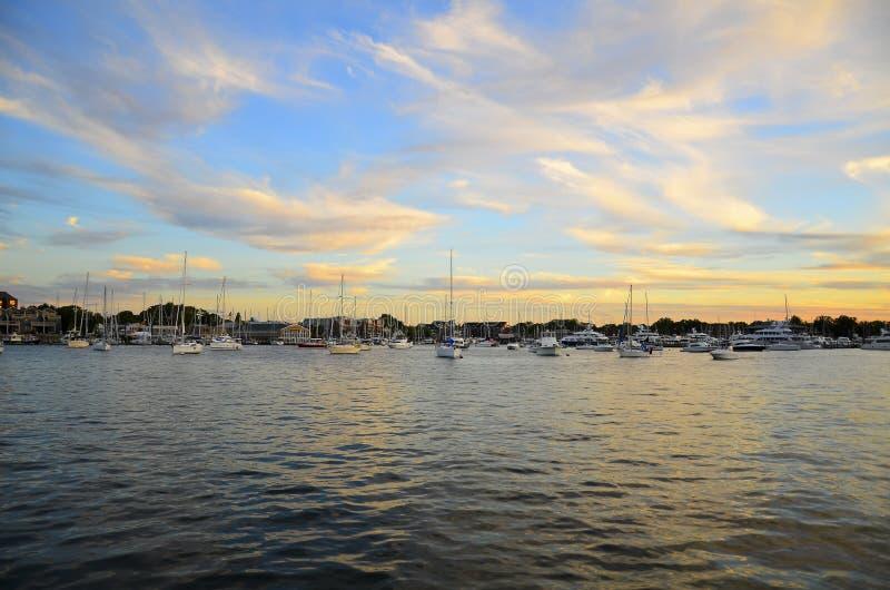 Marina Annapolis images stock