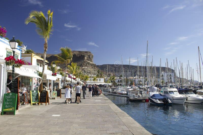 Marina au ¡ n, mamie Canaria de Puerto de Mogà photos stock