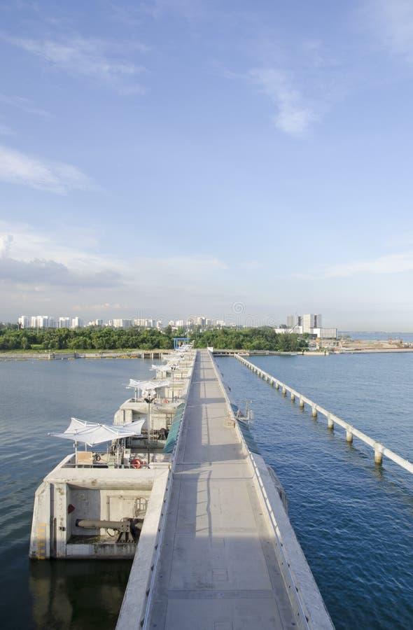 Marina Barrage royalty-vrije stock fotografie