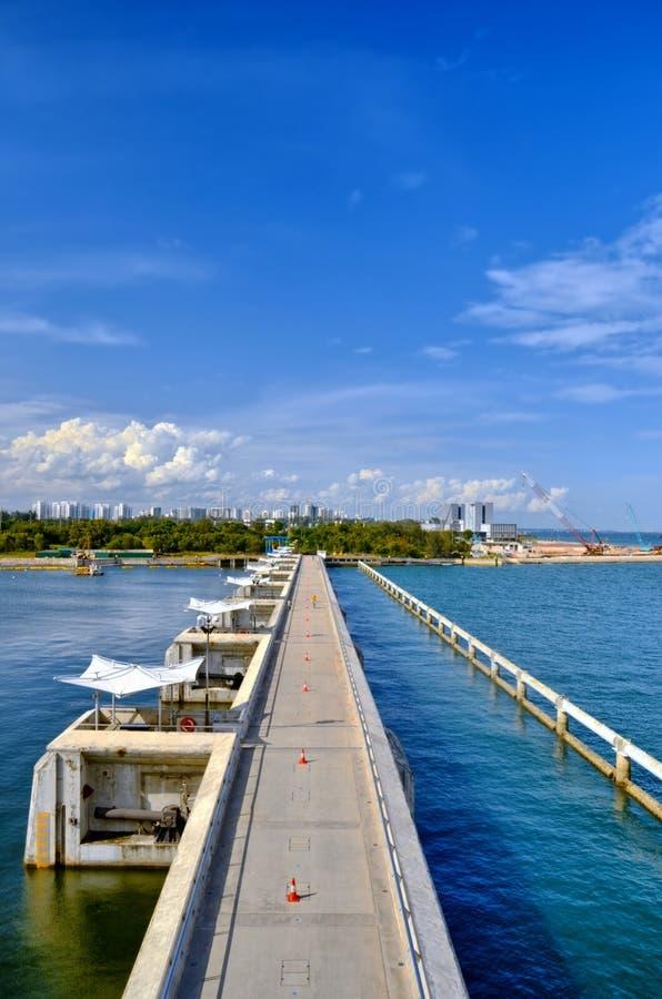 Marina Barrage Singapore stock image