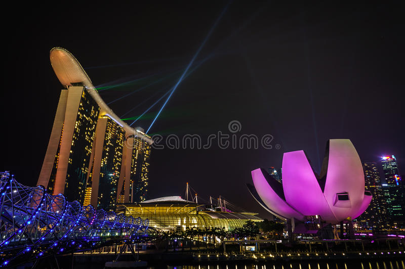 Marina Bay photos stock
