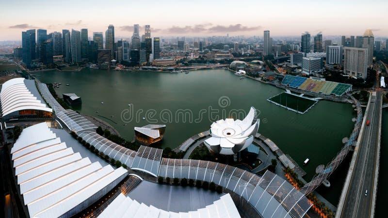 Marina Bay photographie stock