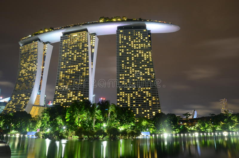 Marina bay royalty free stock photos