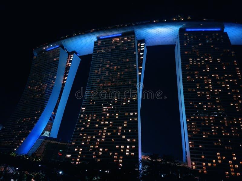 Marina Bay Sand Skypark stockbild