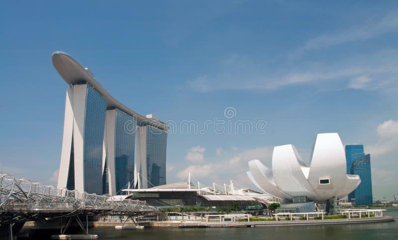 Marina Bay Sands. Integrated Resort Singapore stock images