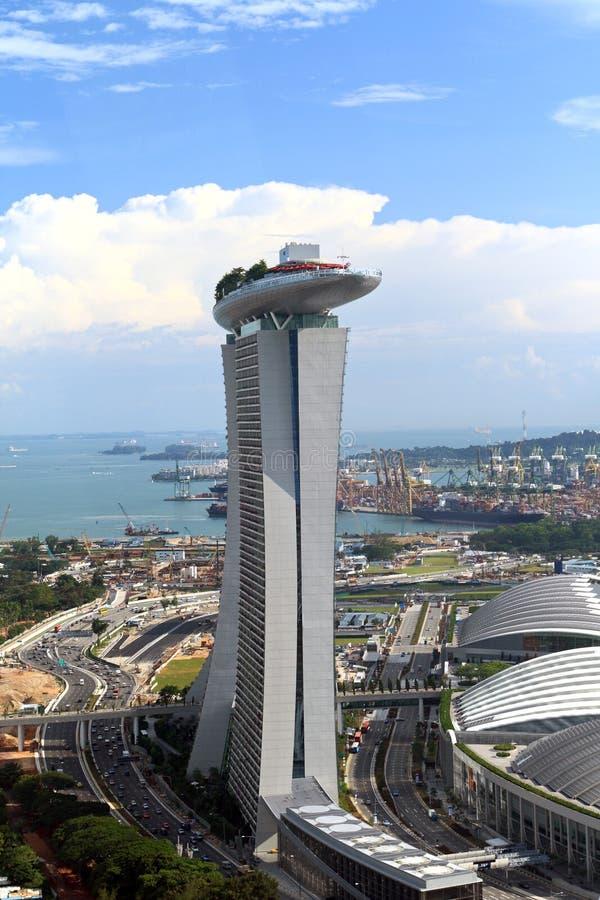 Marina Bay Sands stock photo