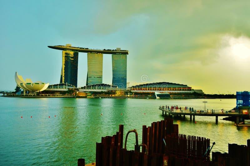 Marina Bay Sands imagen de archivo libre de regalías