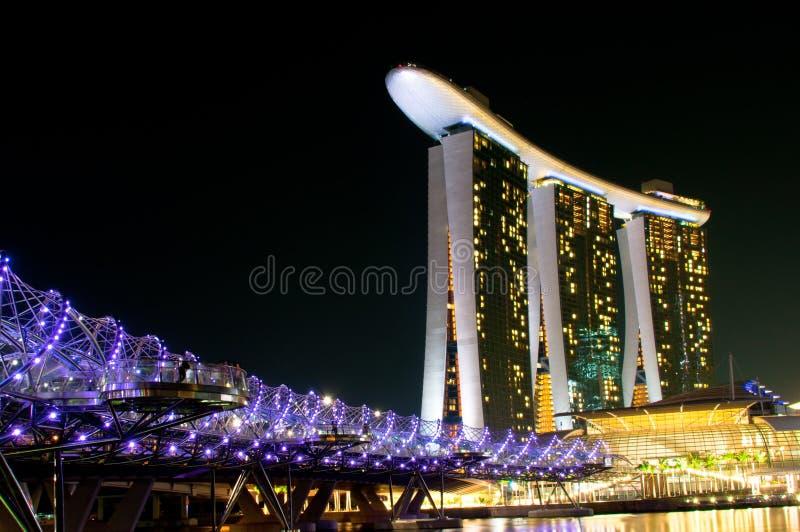 Marina Bay Sands Hotel and Casino royalty free stock photo