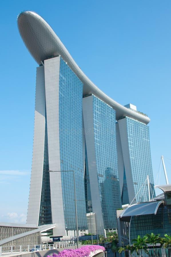Marina Bay sands Integrated Resort royalty free stock image