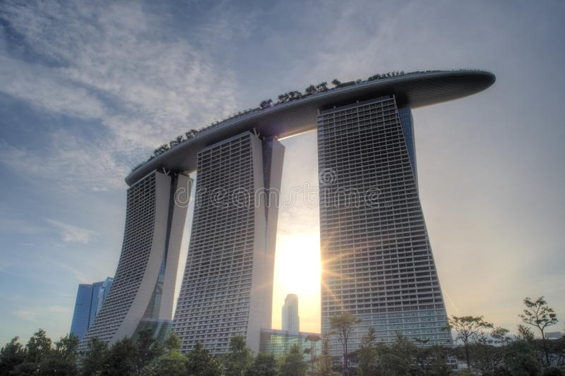 Download Marina Bay Sands Integrated Resort And Waterfront Editorial Image - Image: 26851515