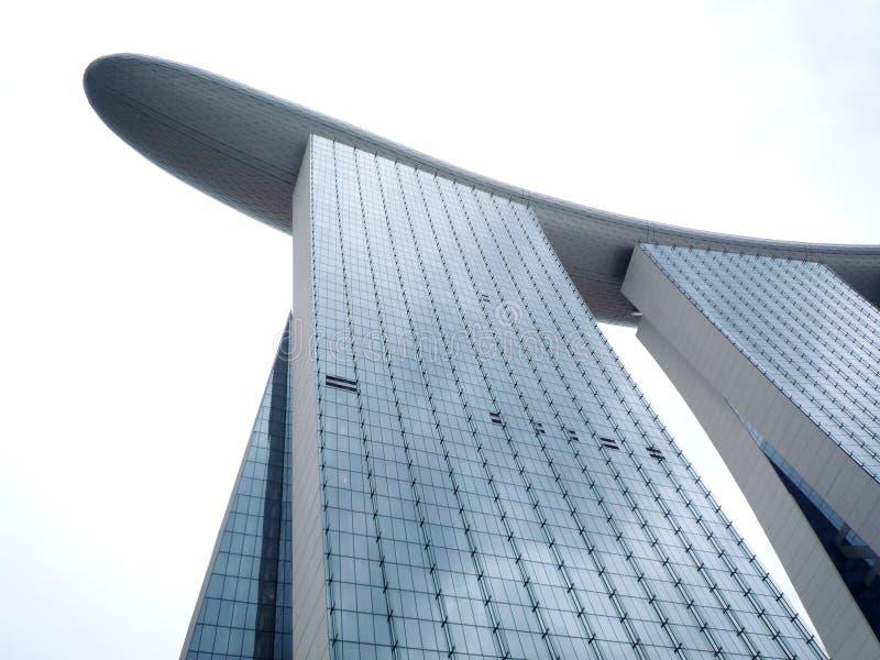 Marina Bay Sands Integrated Resorts royalty free stock photo